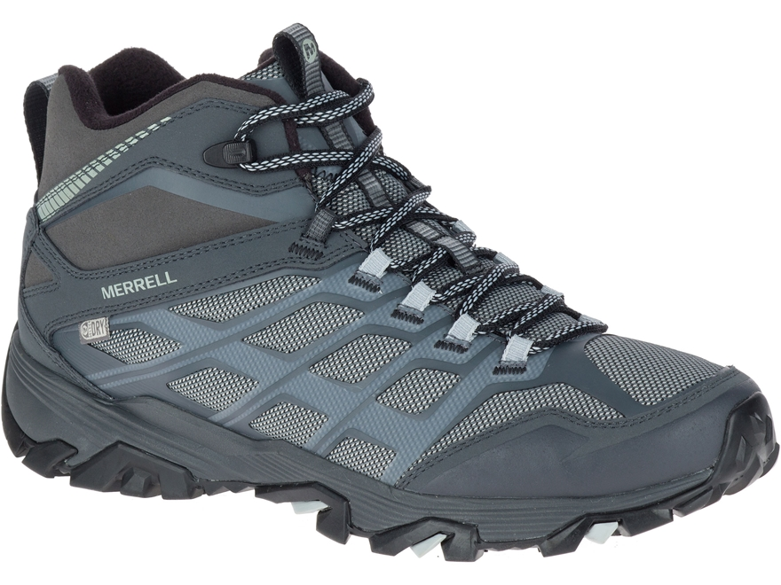 "Merrell Moab FST Ice+ Thermo 5"" Hiking Boots Leather/Synthetic Men's"
