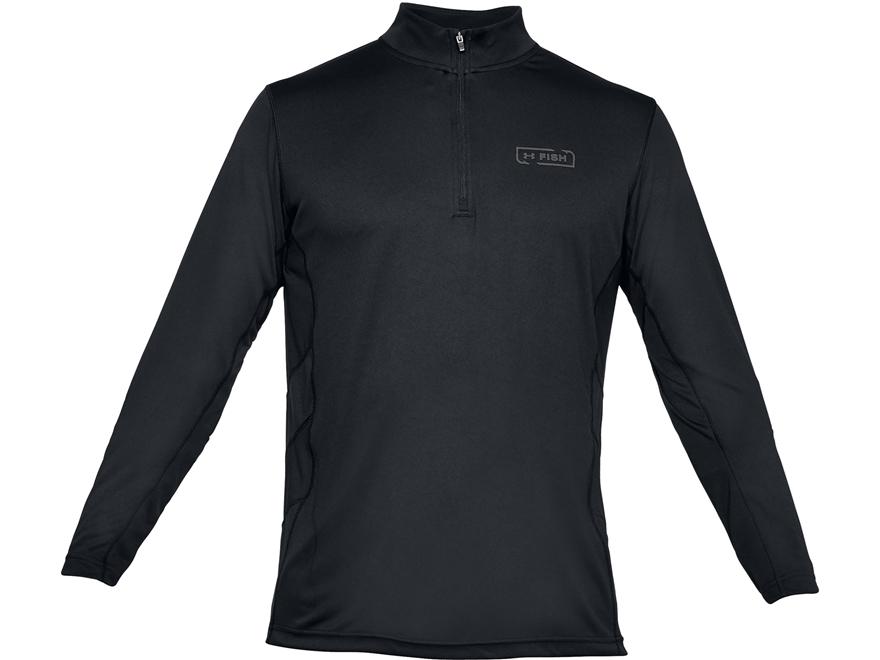 Under Armour Men's UA Fish Hunter Tech 1/4 Zip Shirt Long Sleeve Polyester