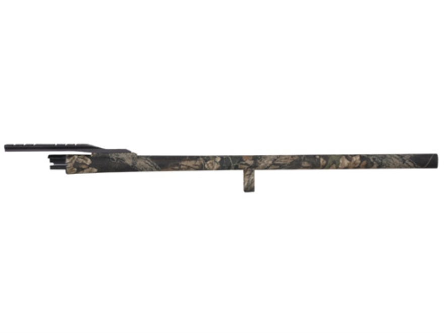 "Remington Slug Barrel Remington 870 12 Gauge 3"" 23"" Rifled Cantilever Mount Mossy Oak B..."