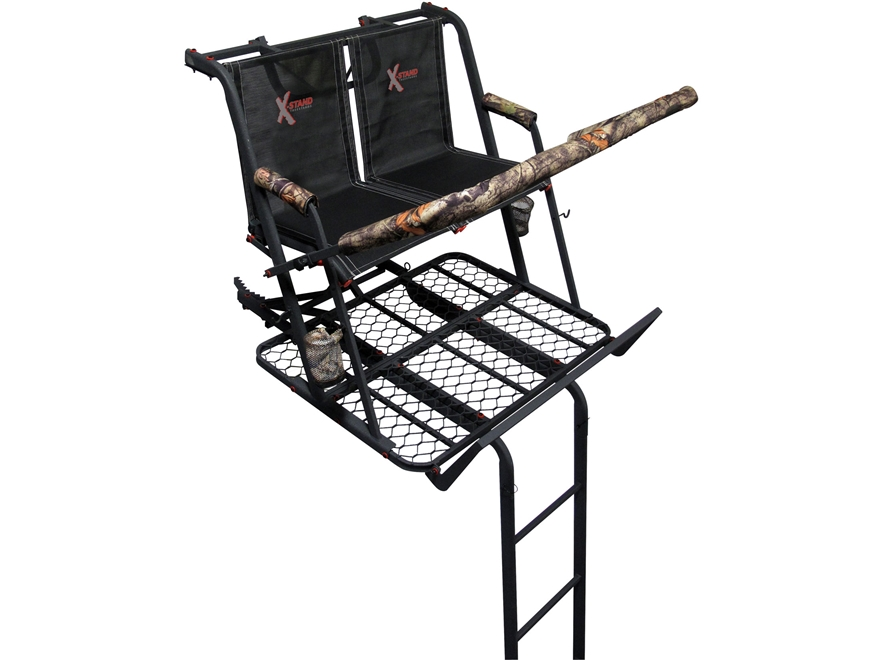 X-Stands The Jayhawk 20' Double Ladder Treestand Steel