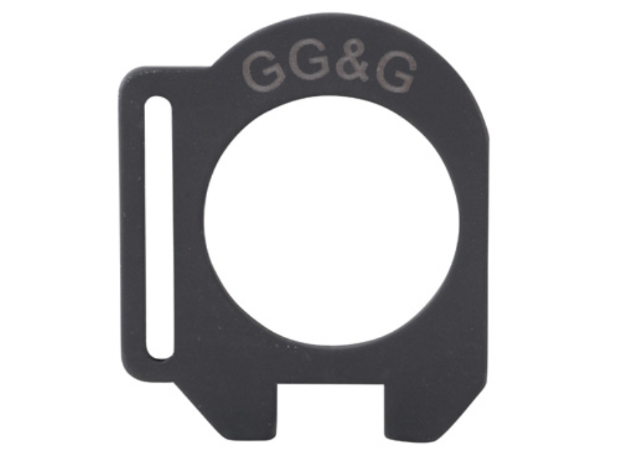 GG&G Slot End Plate Sling Mount Adapter 12 Gauge Aluminum Matte
