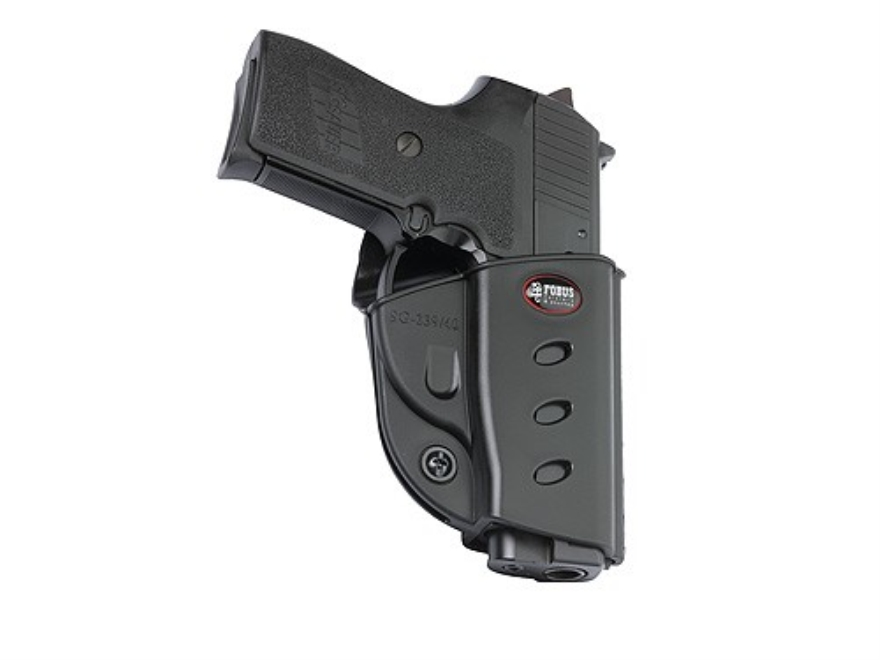 Fobus Evolution Belt Holster Right Hand Sig Sauer P239 40 S&W Polymer Black