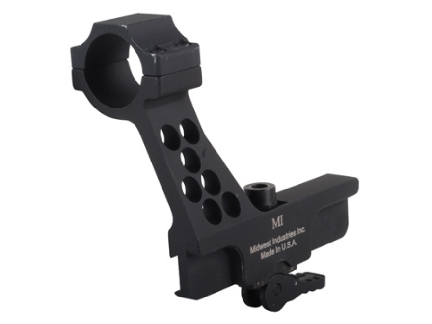 Midwest Industries Quick Detach Red Dot Sight Mount with Integral 30mm Ring AK-47, AK-7...