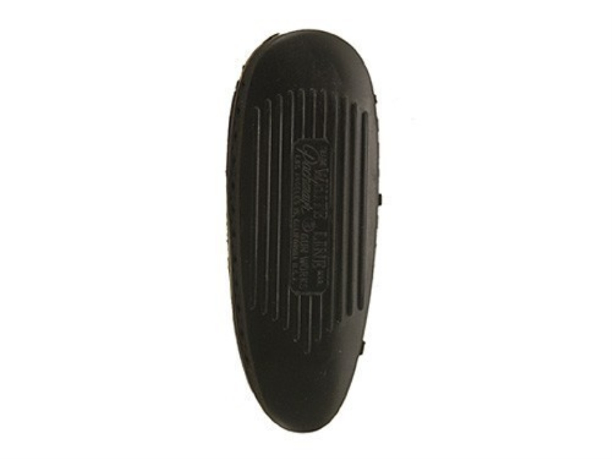 "Pachmayr S325 Deluxe Skeet Recoil Pad 1"" Black with White Line Small with Ribbed Face"