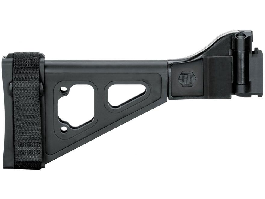 SB Tactical SBT-EVO Pistol Stabilizing Brace Side Folding with Adapter CZ Scorpion EVO