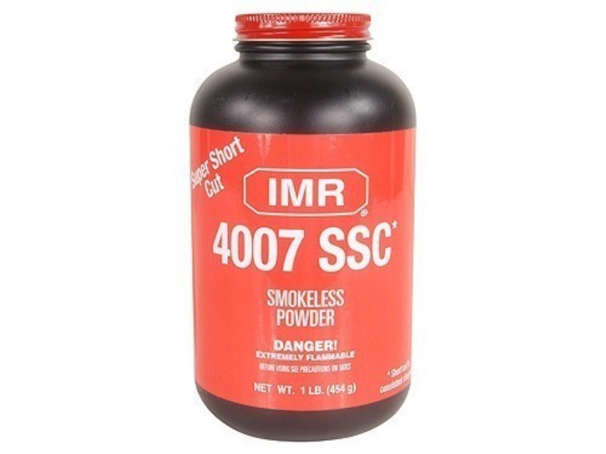 IMR 4007 SSC Smokeless Gun Powder 1 lb