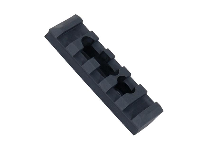 ERGO Picatinny Rail with Mounting Hardware Polymer Black