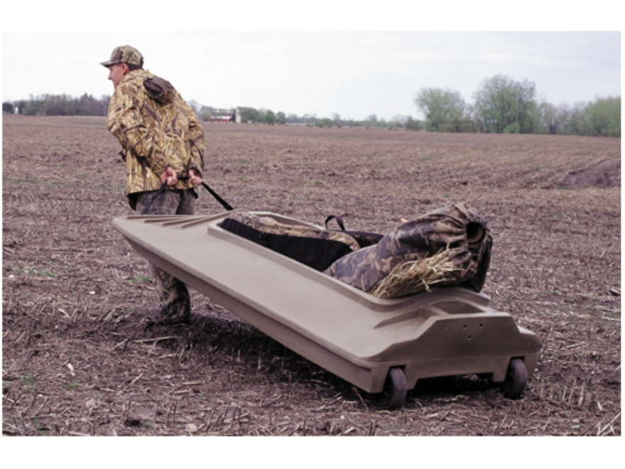 Beavertail Final Attack Duck Boat Polymer Marsh Brown