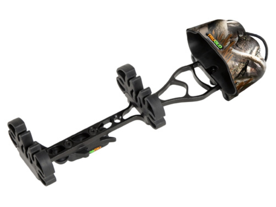 TRUGLO Tru-Tec 5-Arrow Detachable Bow Quiver Aluminum and Polymer Realtree AP Camo