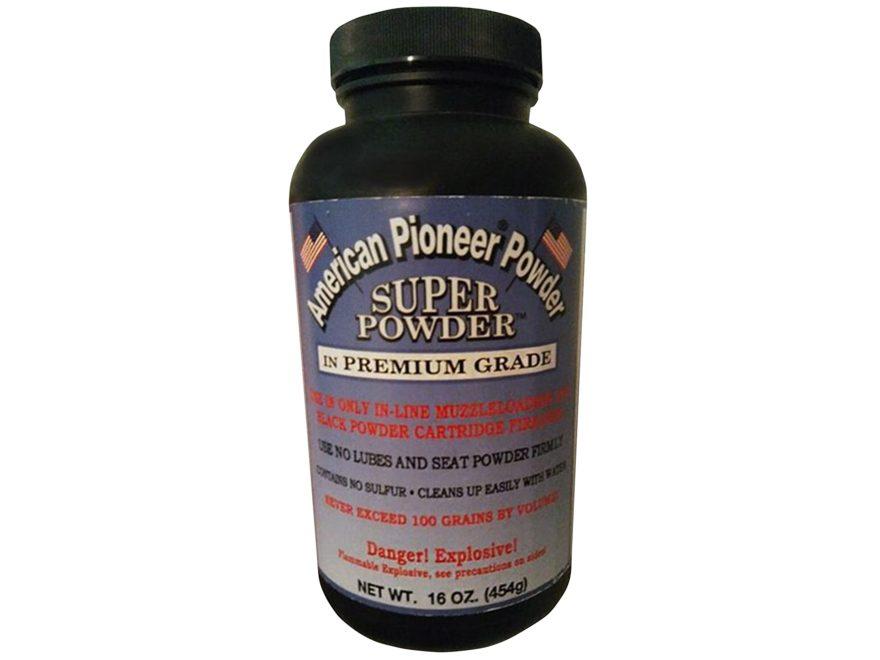 American Pioneer Super Powder Premium Grade Smokeless Powder 1 lb