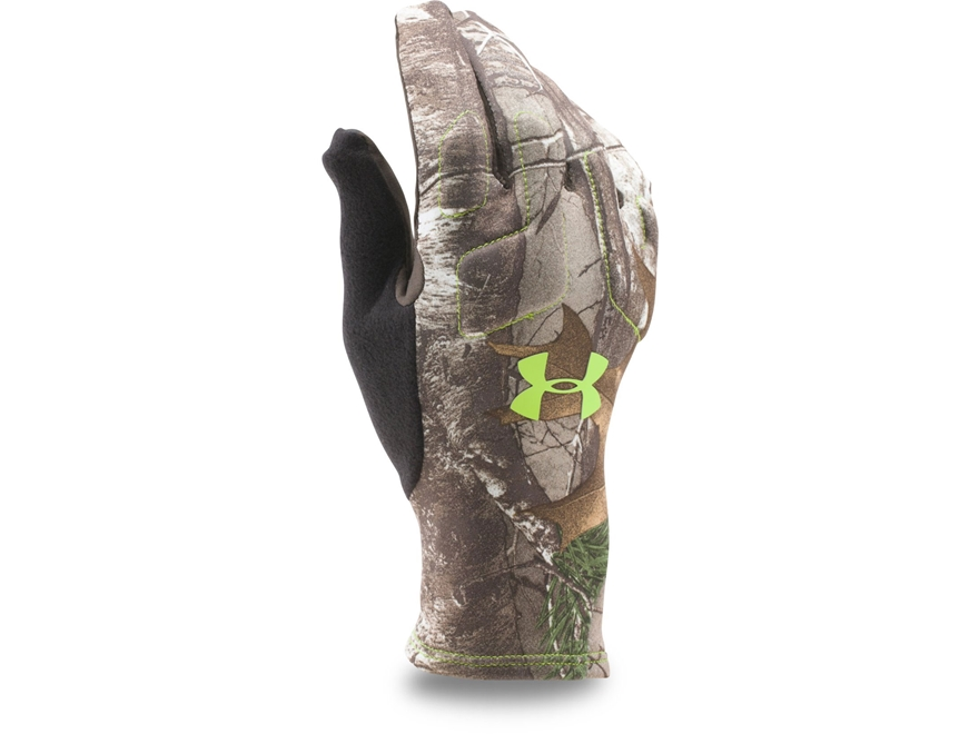 Under Armour Men's UA Scent Control 2 Gloves Polyester Realtree Xtra Camo Medium