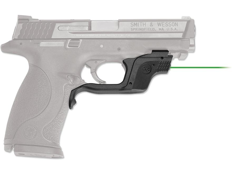 Crimson Trace Laserguard S&W M&P 45 ACP Full-Size & Compact Green Laser Polymer Black