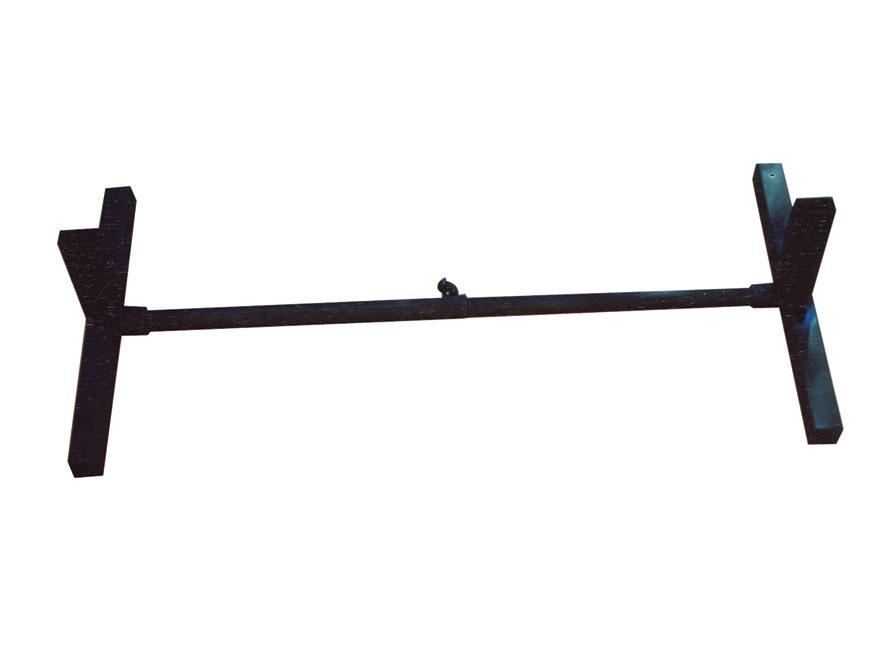 Blu-Arc IDPA/IPSC Target Master T-2 Portable Target Stand Steel Black