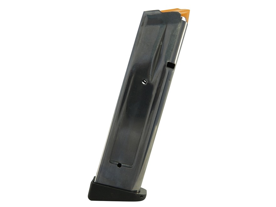 SPS Magazine Pantera, Vista, STI 2011 45 ACP 16-Round 140mm Stainless Steel Polymer Base