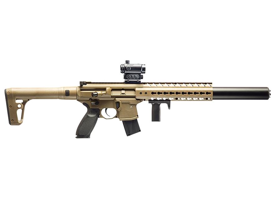 Sig Sauer MCX Air Rifle Pellet Synthetic Stock Matte Barrel