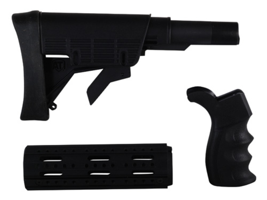 Advanced Technology Strikeforce Buttstock Assembly 6-Position Collapsible Commercial Di...