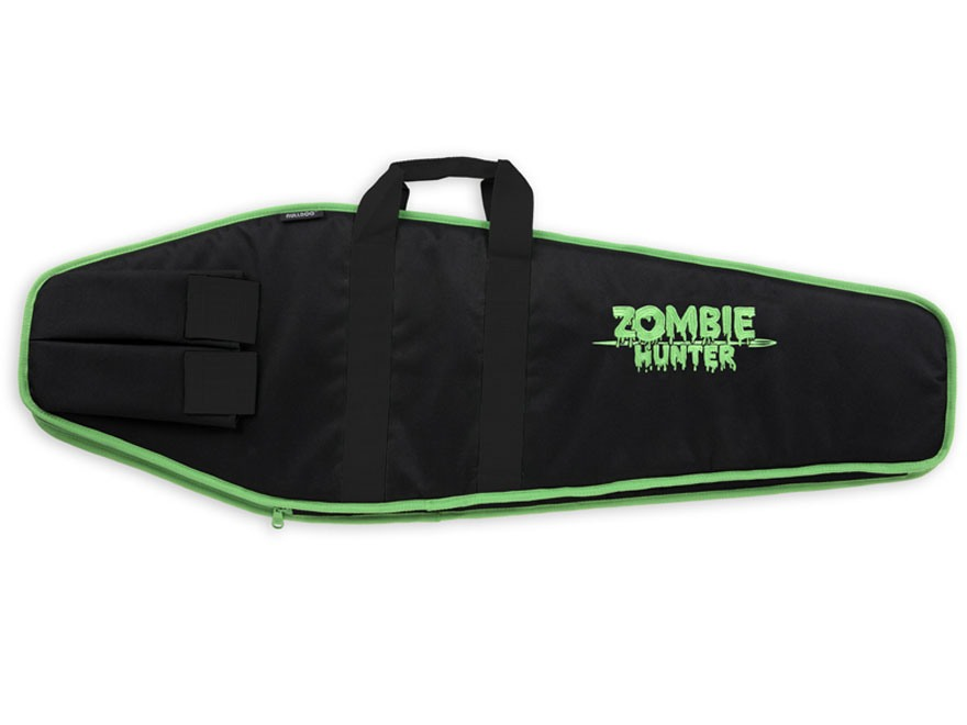 "Bulldog Economy Zombie Hunter Tactical Rifle Case with 3 Pockets 38"" Nylon Black"