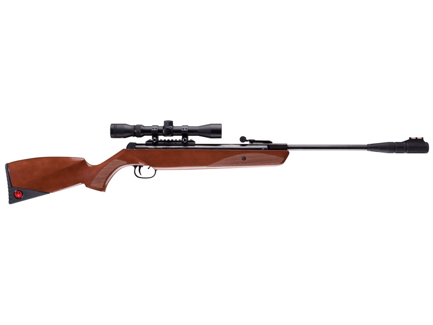 Wooden Pellet Rifles ~ Ruger yukon air rifle cal pellet wood stock blue mpn