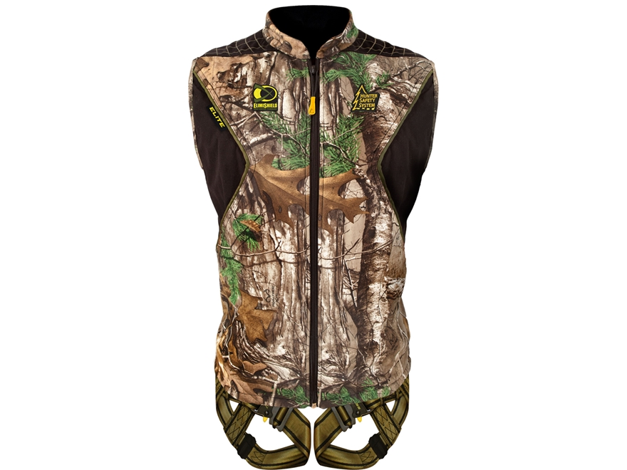 Hunter Safety System Elite Treestand Safety Harness Realtree Xtra Camo
