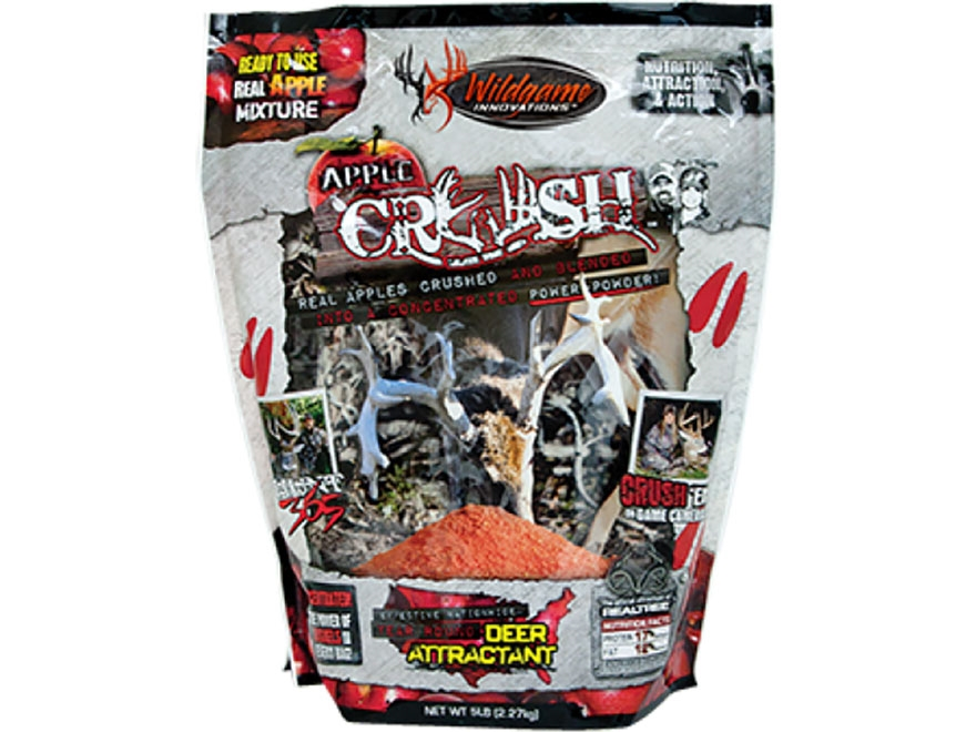 Wildgame Innovations Apple Crush Mix Deer Attractant Powder 5 lb