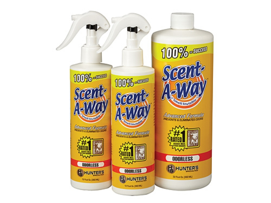 Hunter's Specialties Scent-A-Way Scent Elimination Bonus Pack