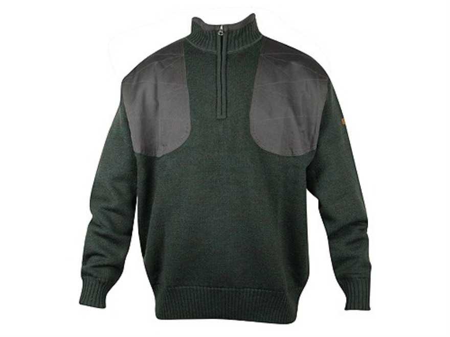 Beretta Wind Barrier Northeastern 1/4 Zip Sweater Wool