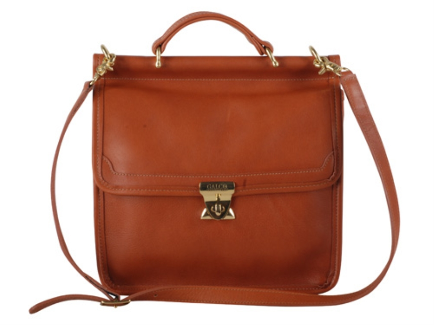 Galco Classic Conceal Carry Handbag Leather Tan