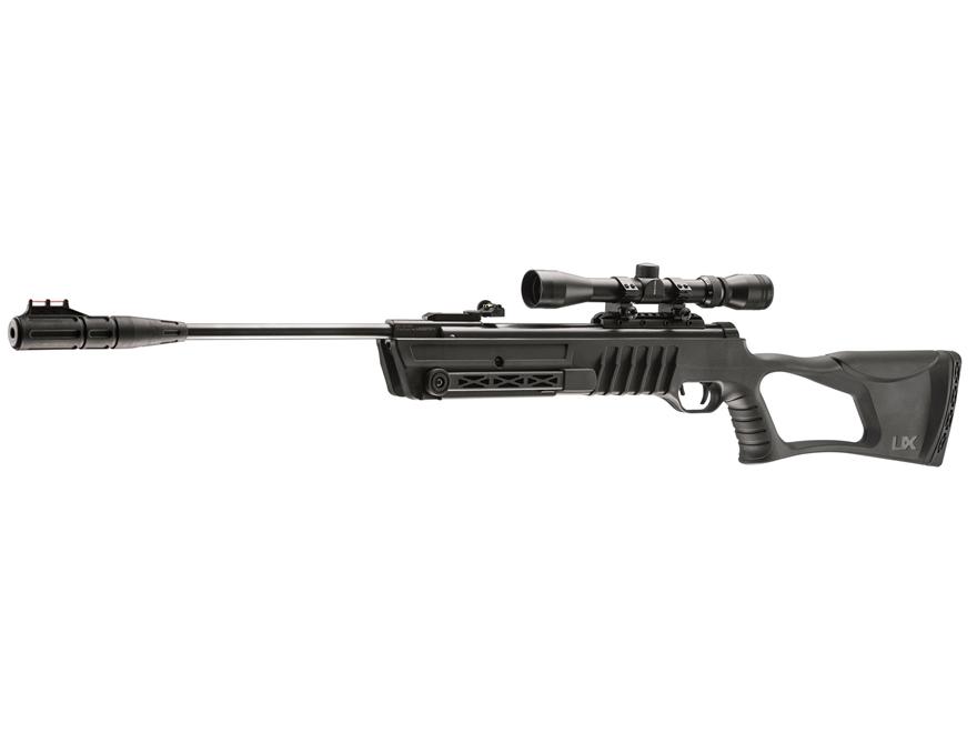 Umarex Fuel Break Barrel Air Rifle 22 Caliber Black Polymer Stock Blued Barrel with Air...