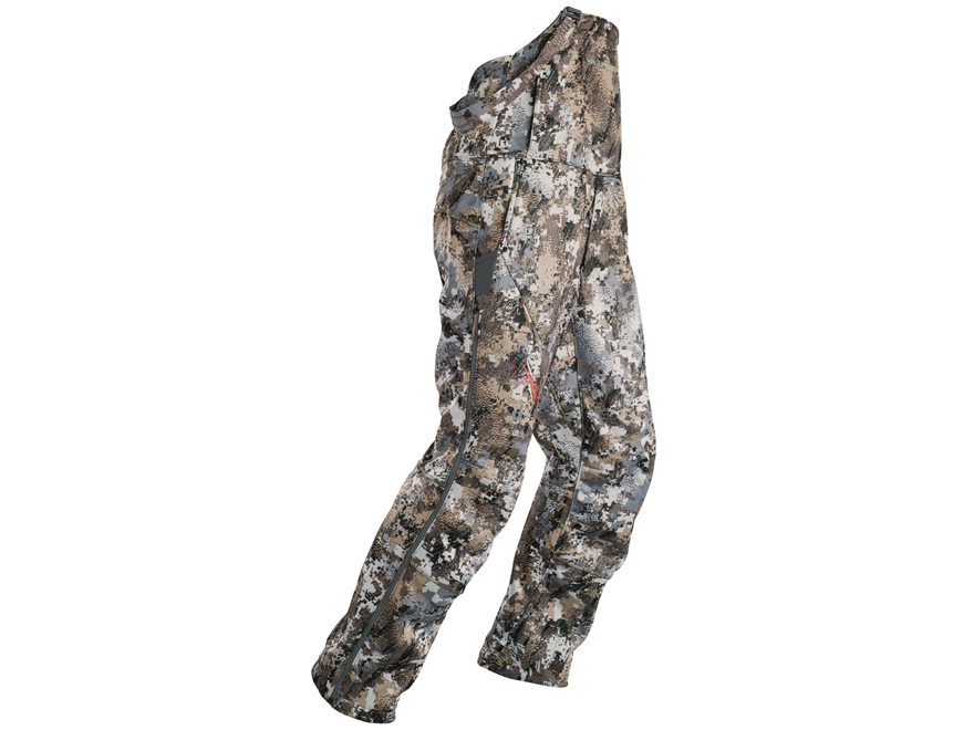 Sitka Gear Men's Fanatic Lite Insulated Bibs Polyester Gore Optifade Elevated II Camo
