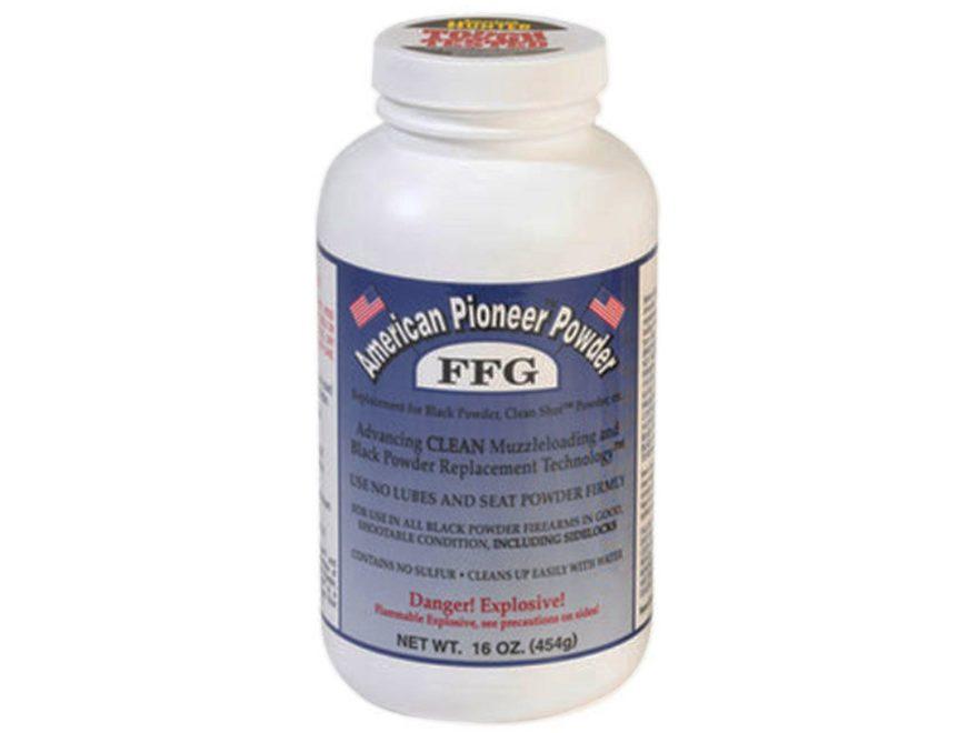 American Pioneer FFg Premium Grade Smokeless Powder 1 lb