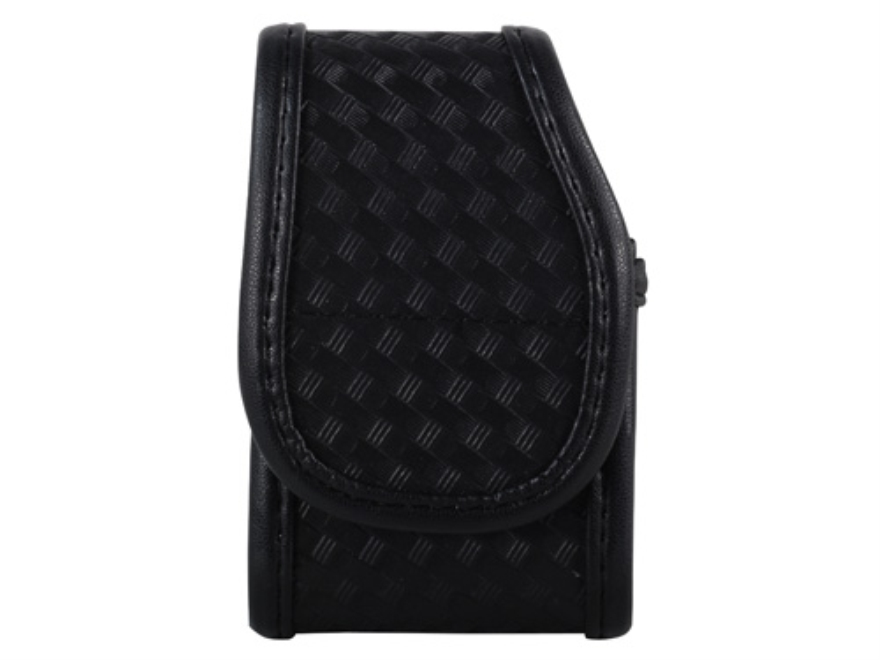 Uncle Mike's Case Medium Pager Mirage Nylon Laminate Basketweave Black