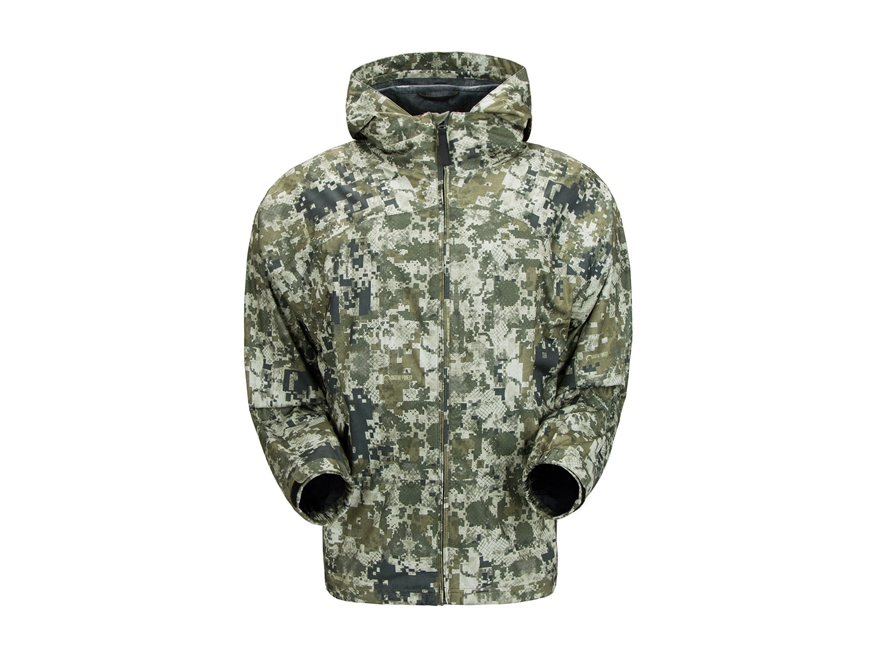 Plythal Men's Ultralight Packable Waterproof Rain Jacket Polyester
