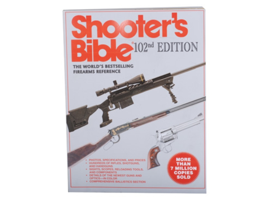 """Shooter's Bible 102nd Edition"" Book By Wayne Van Zwoll"