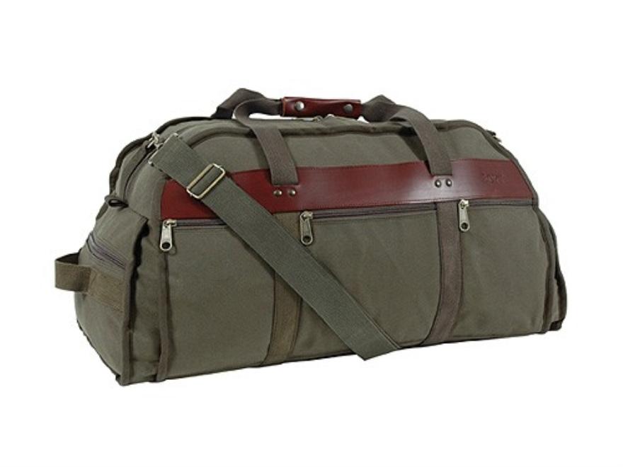 "Boyt Ultimate Sportsman's Duffel Bag 25"" x 13"" x 14"" Canvas Green"