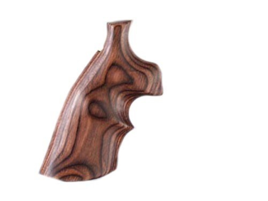 Hogue Fancy Hardwood Grips with Top Finger Groove Taurus Small Frame