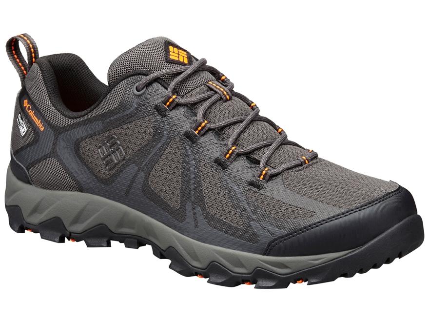 "Columbia Peakfreak XCRSN II Xcel Low Outdry 4"" Waterproof Hiking Shoes Leather/Nylon Sh..."