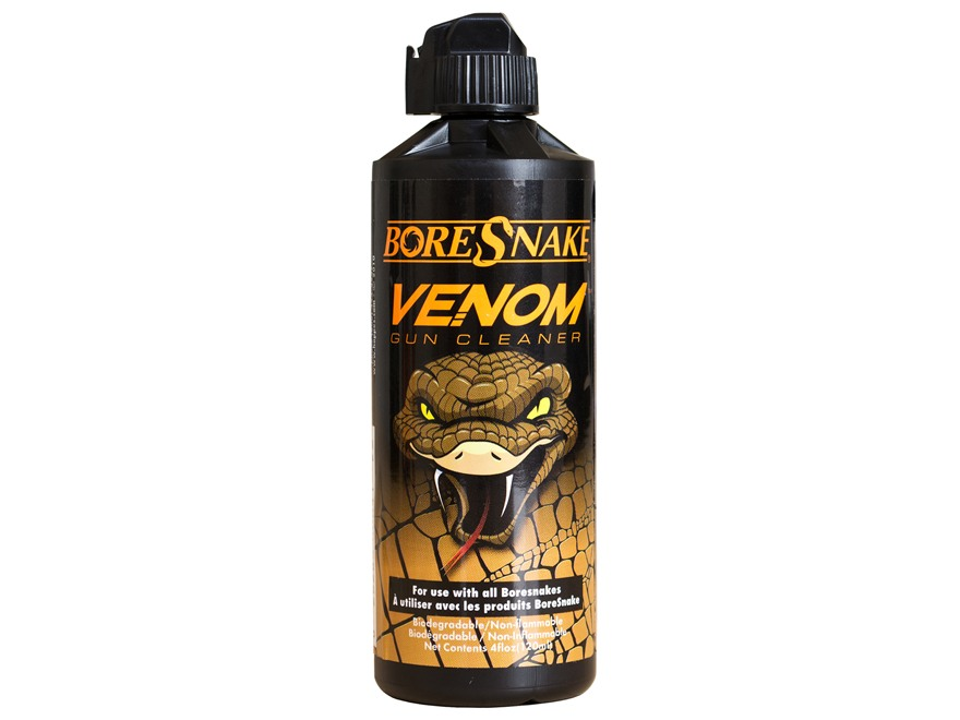 Hoppe's BoreSnake Venom Bore Cleaning Solvent 4 oz Liquid
