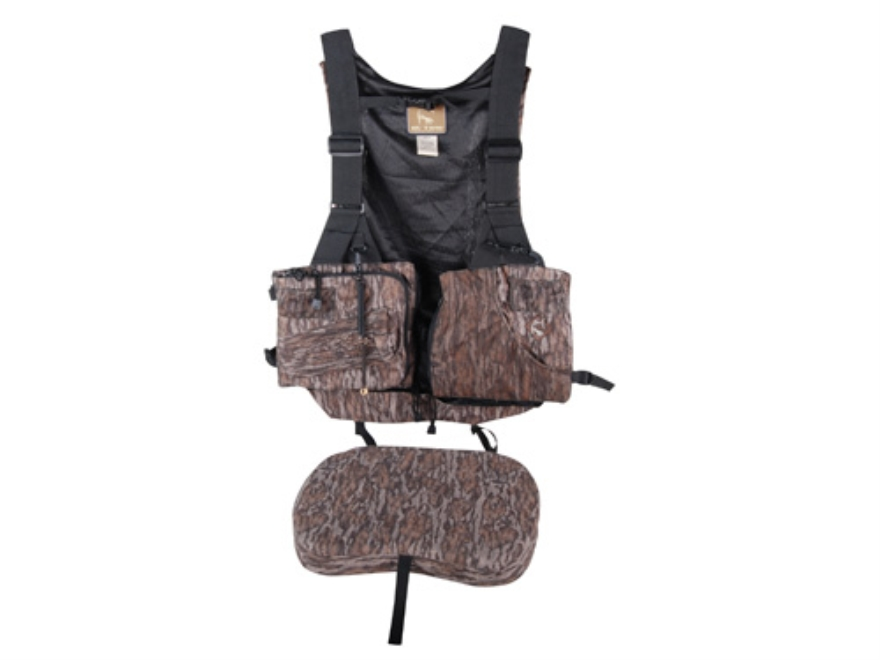 Ol' Tom Duralite Time & Motion Essentials Turkey Vest Mossy Oak Bottomland Camo