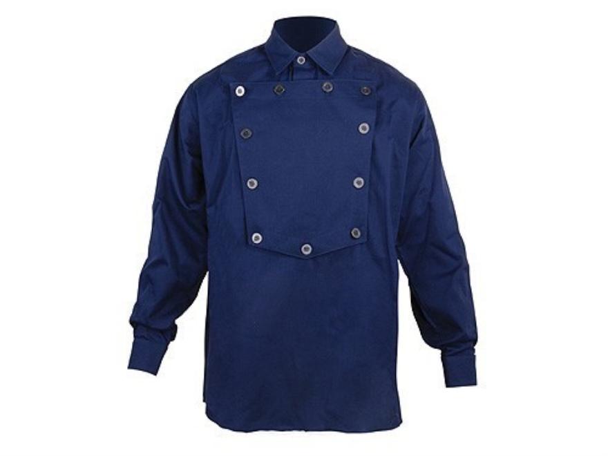 "WahMaker Cavalry Bib Shirt Long Sleeve Cotton Navy 2XL (52"")"