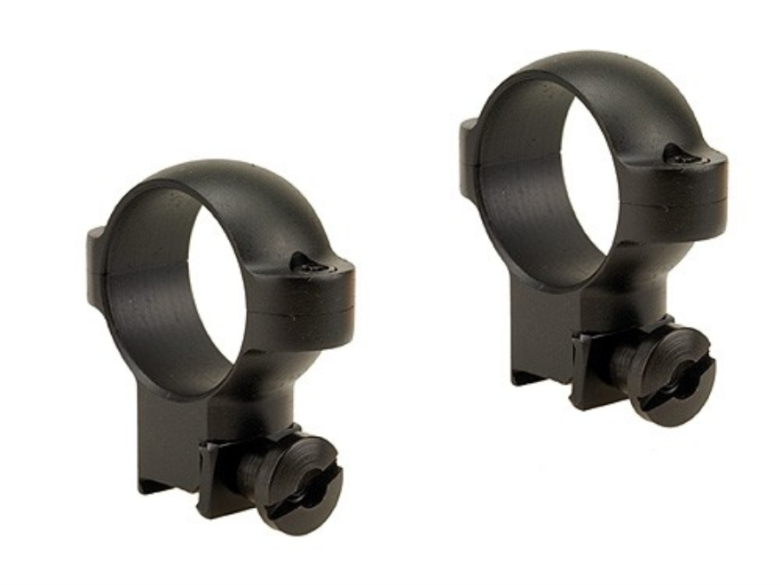 "Burris 1"" Deluxe Rings 22 Rimfire Steel"