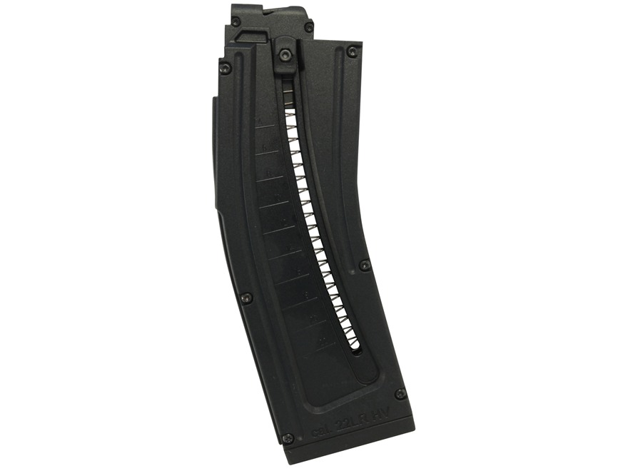 ISSC Magazine ISSC MK22 22 Long Rifle 22-Round Polymer Black