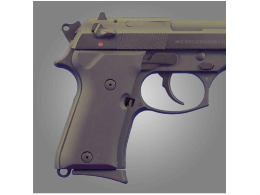 Hogue Extreme Series Grip Beretta 92FS Compact Aluminum Matte Black