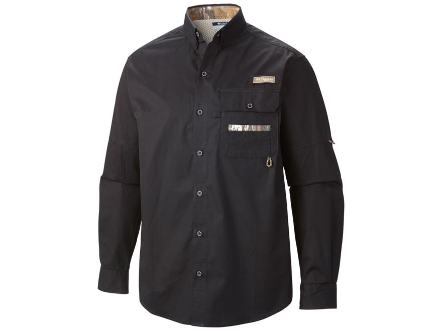 Columbia Men's Sharptail Button-Up Shirt Long Sleeve Cotton