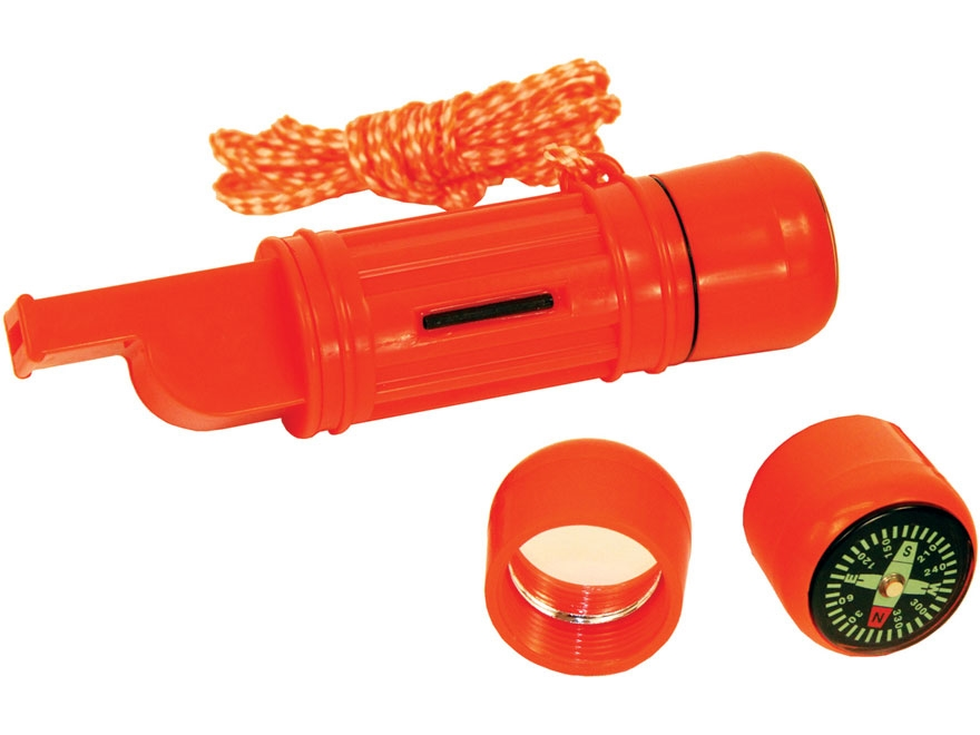 Texsport 5-in-1 Survival Aid Polymer Red