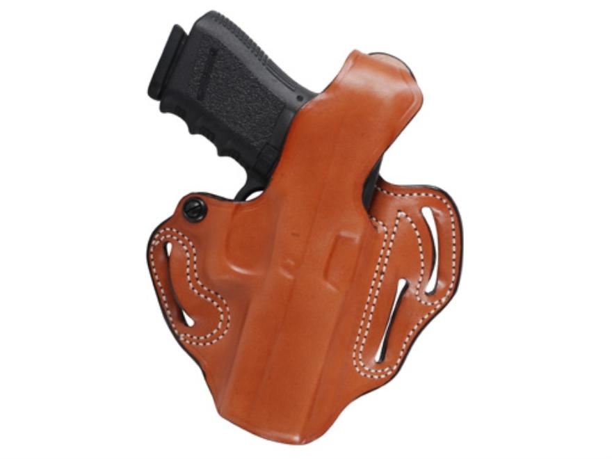 DeSantis Thumb Break Scabbard Belt Holster Right Hand Glock 20, 20SF, 21 Leather