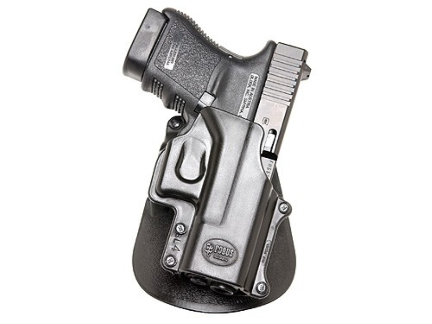 Fobus Roto Paddle Holster Right Hand Glock 29, 30, 39, S&W 99, Sigma V-Series Polymer B...
