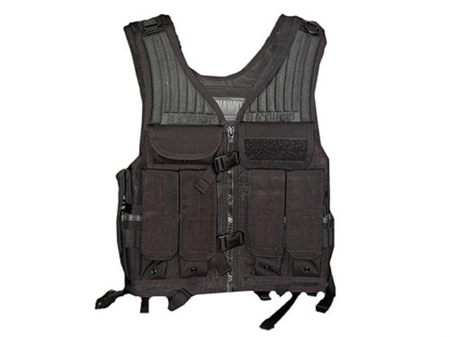 BLACKHAWK! Omega Elite Tactical Vest Ambidextrous Nylon Black
