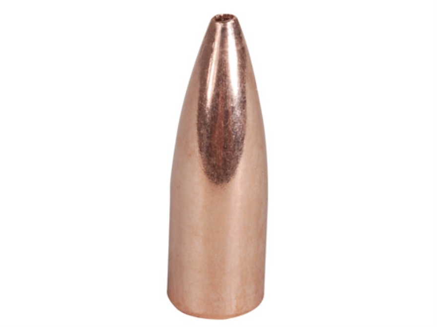 Barnes Match Burner Bullets 22 Caliber (224 Diameter) 52 Grain Flat Base Box of 100