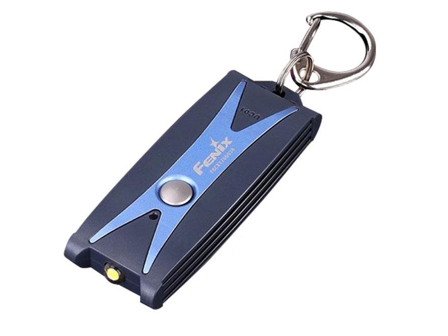 Fenix UC01 Mini Flashlight LED with Rechargeable Lithium Polymer Battery Aluminum Blue
