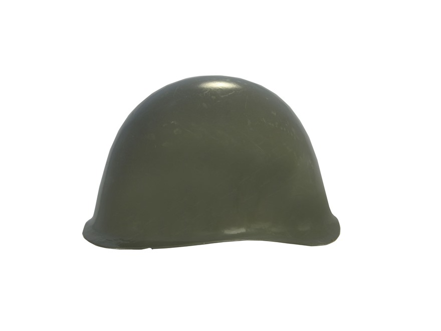 Military Surplus Hungarian Steel Helmet Grade 2 Olive Drab